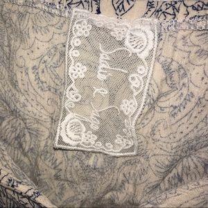 Sadie & Sage Pants - Off the shoulder floral romper